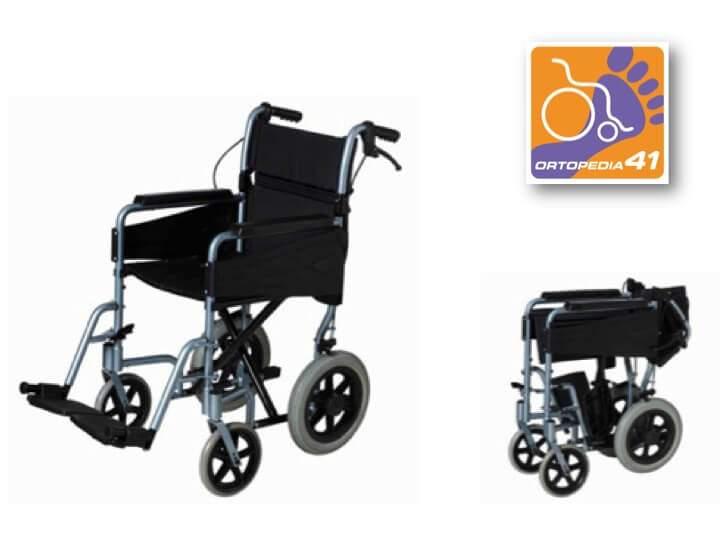 Silla de ruedas de traslado pl8045 ortopedia 41 ortopedia deporte - Silla de traslado ...